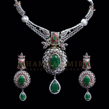 Picture of Emeralds bridal set