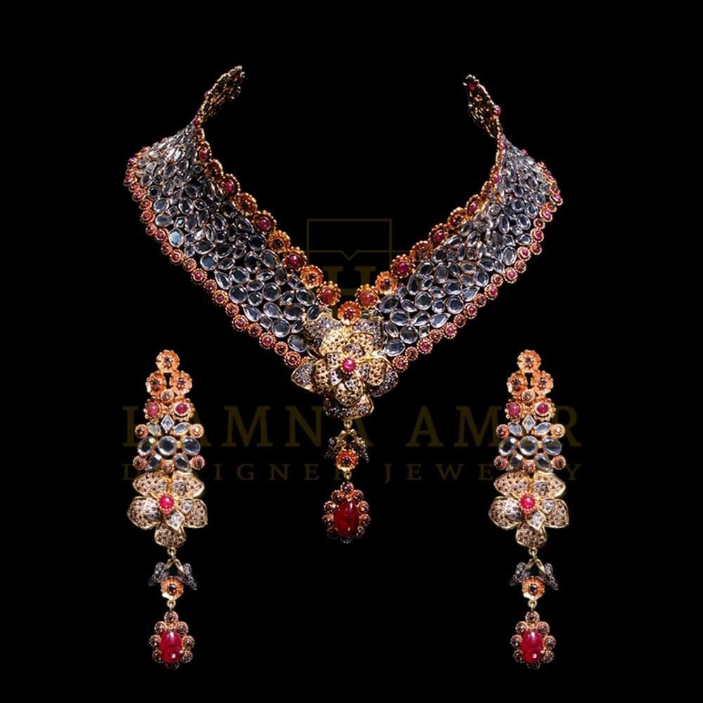 Picture of Floral bridal set