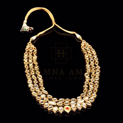 Picture of Two sided kundan mala