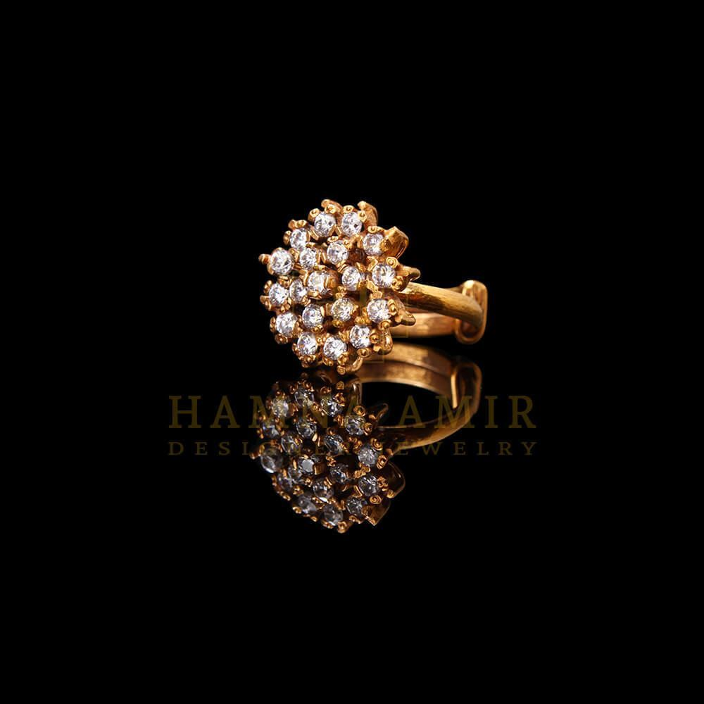 Picture of Gold plated zircon ring