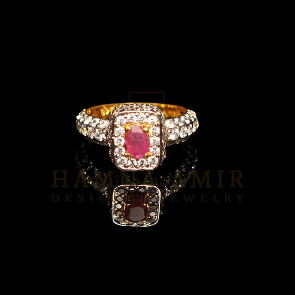 Picture of Zircon ring (f)