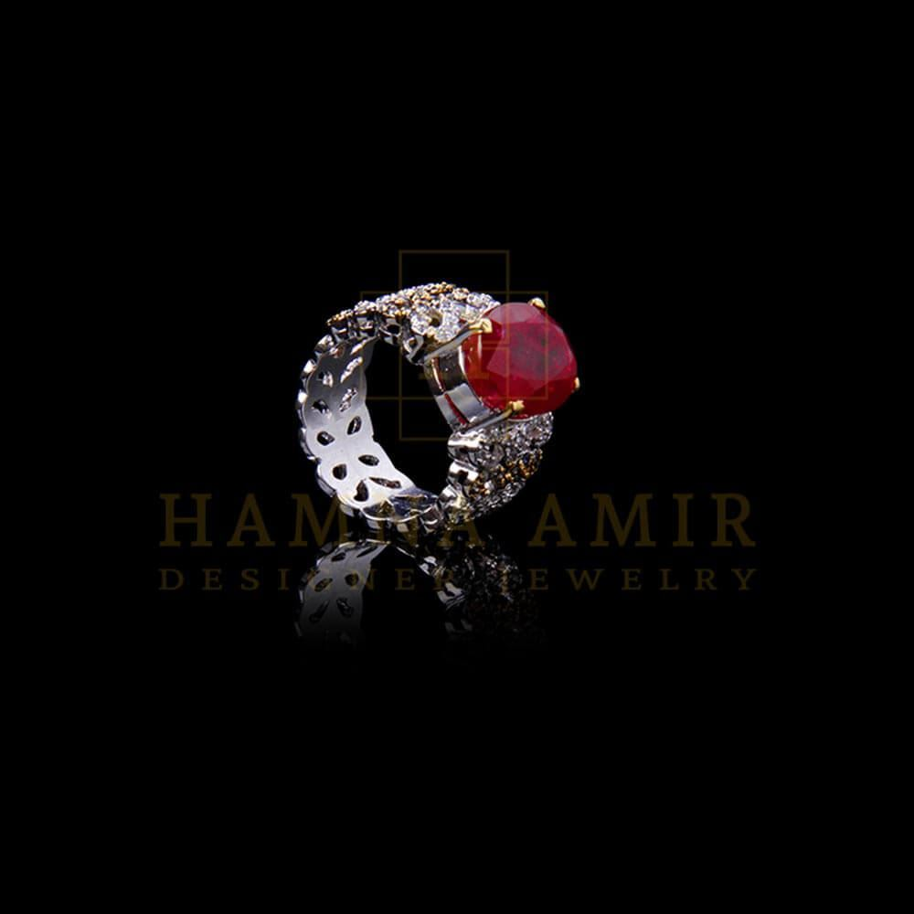 Picture of American zircon ruby ring