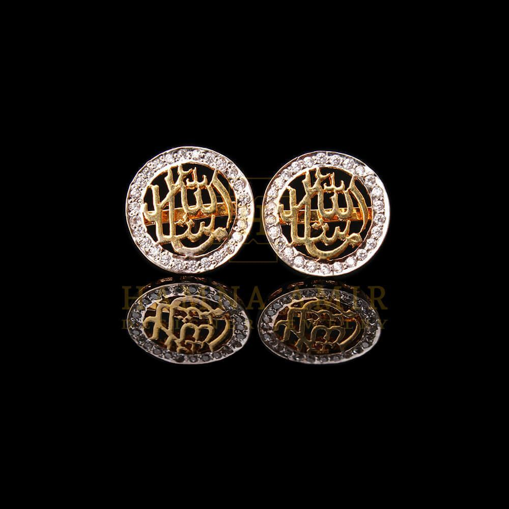Picture of Gold plated calligraphy tops