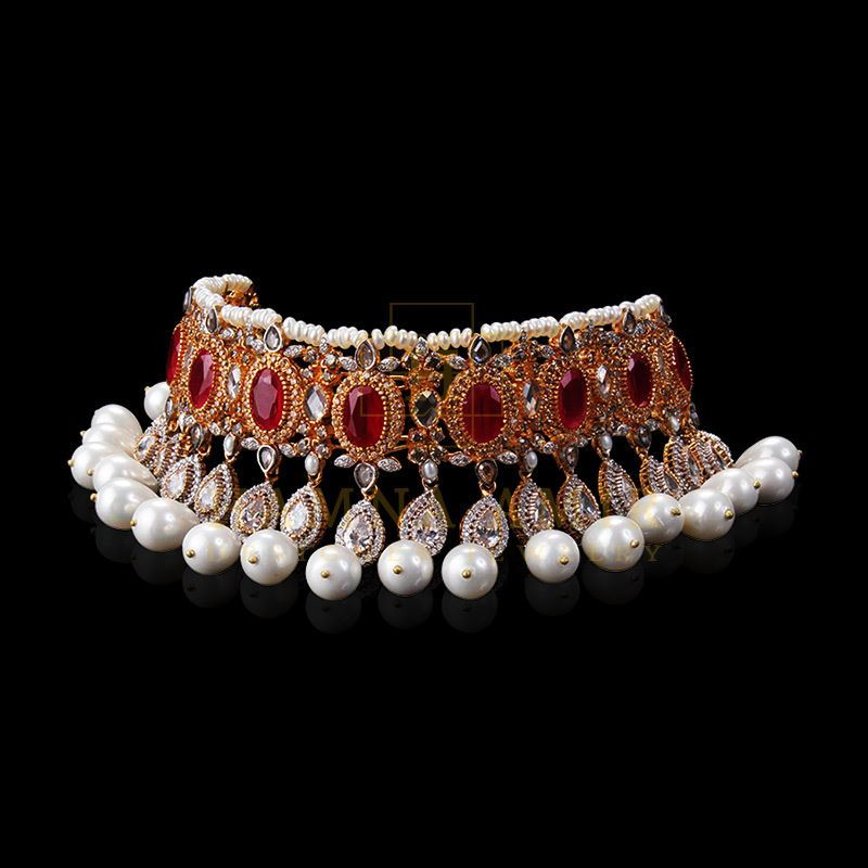 Picture of Rubies and pearls set