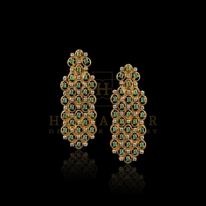 Picture of Emeralds earrings