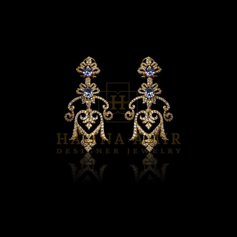 Picture of Sapphire earrings