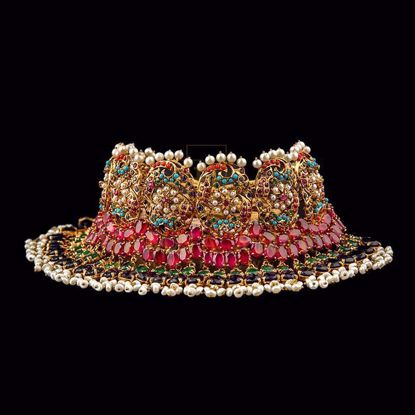 Picture of Nauratan bridal multilayered set
