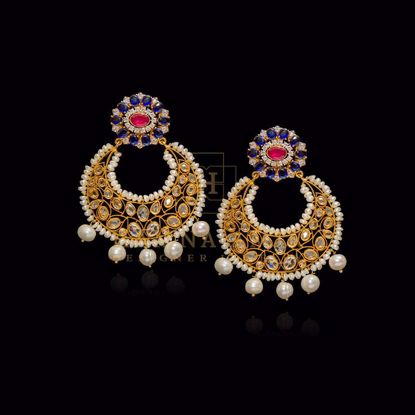 Picture of Exquisite chand balaa earrings