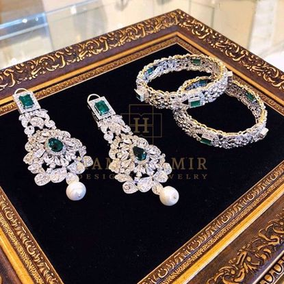 Picture of Emerald earrings