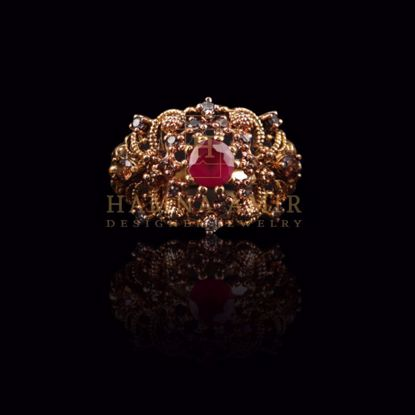 Picture of Ruby ring (b)
