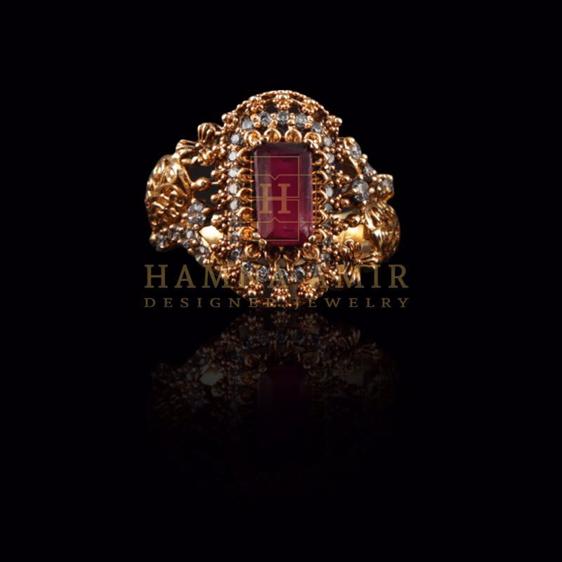 Picture of Ruby ring (a)